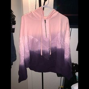 Slouchy Sport Pullover - From Pink